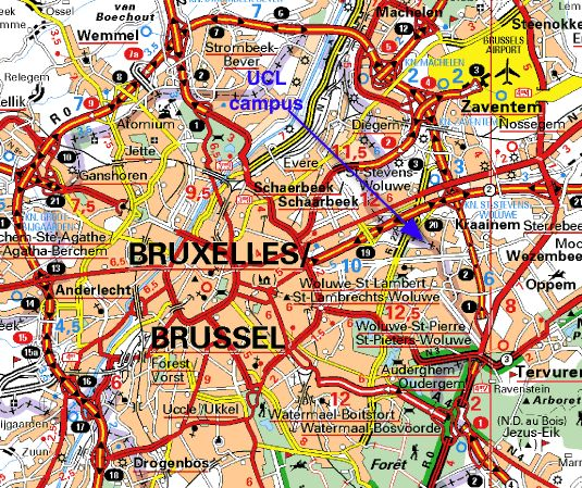 Images And Places Pictures And Info Brussels Airport Map - Brussels airport map